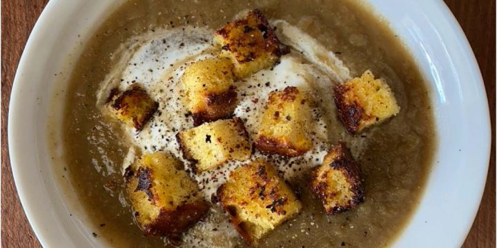 Hearty Parsnip Soup