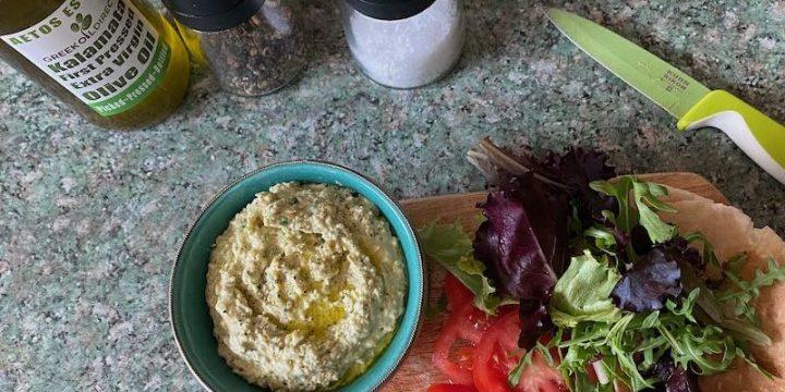 Wild Garlic Hummus