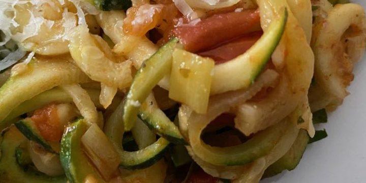 Nowt like Courgetti Spaghetti